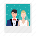bride, couple, groom, love, newlyweds, photo, photography icon