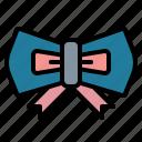 bow, clothing, fashion, tie icon