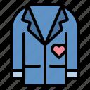 fashion, men, suit, tuxedo, wedding icon