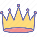 adoration, beauty, crown, princess crown, queen icon