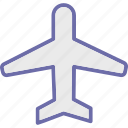 aeroplane, aircraft, airplane, aviation, fly icon