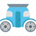 brougham, carriage, coach, marriage, transport, vehicle, wedding icon