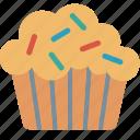 cooking, cupcake, dessert, food, muffin, restaurant, sweet icon