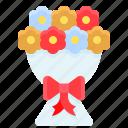 bouquet, ceremony, flora, flower, marriage, romance, wedding