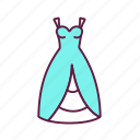 bridal, outfit, wedding, dress icon