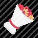 bouquet, flower, gift, wedding, marriage