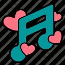 love, romance, audio, song, wedding, heart, music