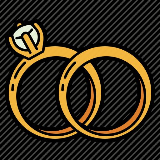 Wedding, diamond, ring, jewel, jewelery, fashion, rings icon - Download on Iconfinder