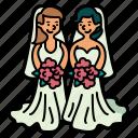 wedding, romantic, love, couple, marriage, groom, people