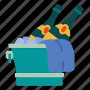 alcohol, bucket, bottle, drink, celebration, beverage, champagne