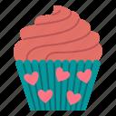 dessert, sweet, bakery, muffin, food, baked, cupcake