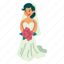 wedding, fashion, bride, dress, feminine, clothing, elegant