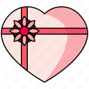 gift, wedding, gift box
