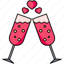 cheers, drink, beverage, glass