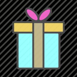 gift, love, romantic, wedding icon