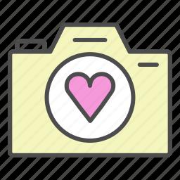 camera, romantic, valentine, video, wedding icon