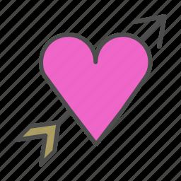 heart, love, romantic, wedding icon