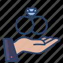 hand, wedding, ring