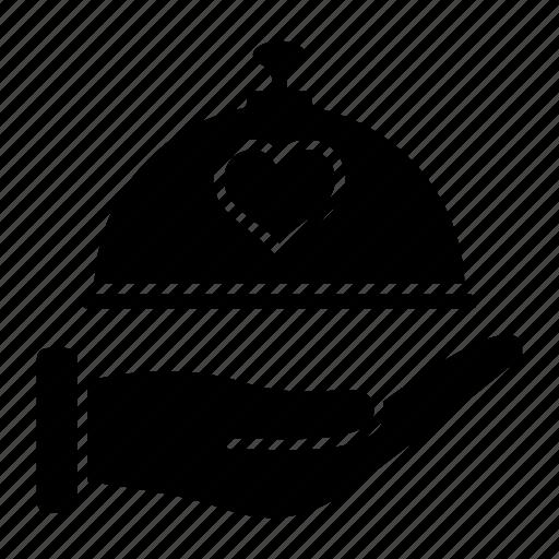 dish, dome, food, kitchen, restaurant, wedding icon