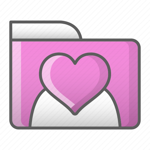 data, folder, valentine, wedding icon