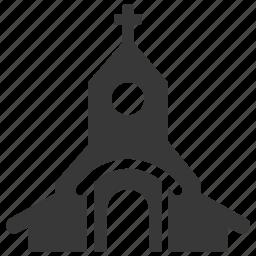 building, chapel, christian, church, religious, sanctuary, temple icon