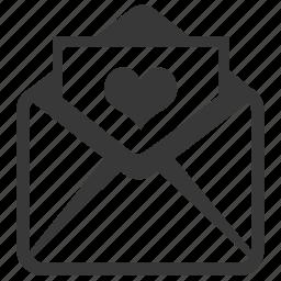 card, envelope, invitation, invite, letter, love letter, wedding card icon
