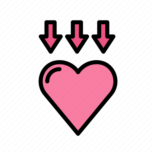 bow, heart, love, marriage, party, wedding icon