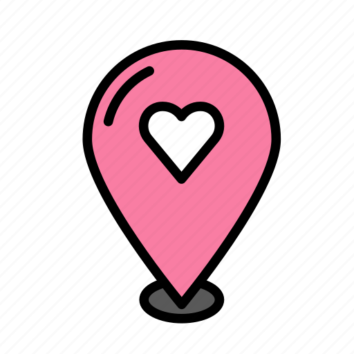 heart, loc, love, marriage, party, wedding icon