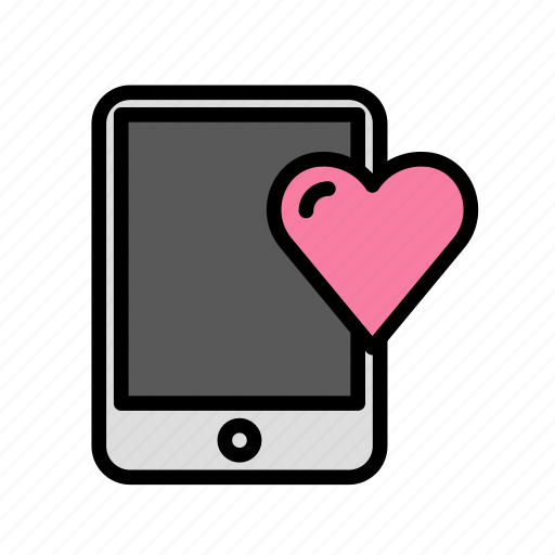 heart, love, marriage, mobile, party, wedding icon