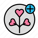 add, love, marriage, party, romance, wedding icon