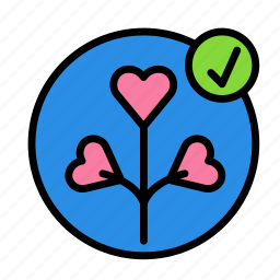 approve, love, marriage, party, romance, wedding icon