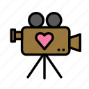 camera, love, marriage, party, romance, wedding icon