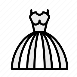 dress, love, marriage, party, wedding icon