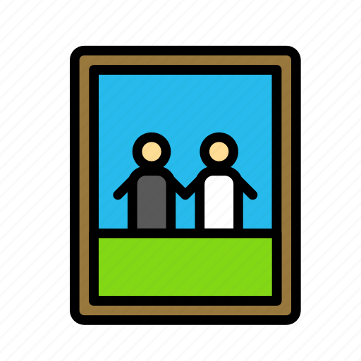 frame, love, marriage, party, wedding icon