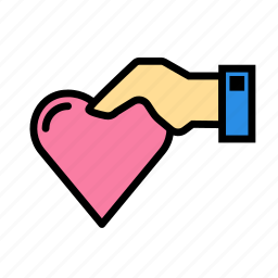 h, heart, love, marriage, party, wedding icon