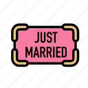 justmarried, marriage, party, love, wedding