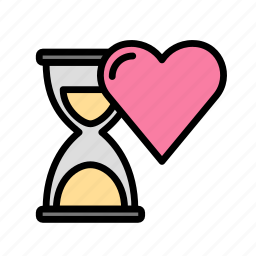 heart, love, marriage, party, timeline, wedding icon