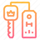 access, hotel, key, room, security icon