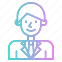 avatar, groom, love, man, romance, user, wedding icon