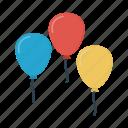 balloon, decoration, party, wedding icon