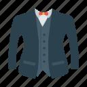 cloth, dress, suit, wedding icon