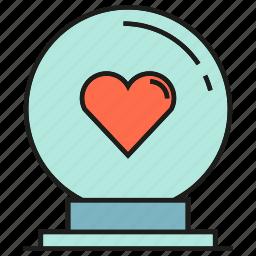 gift, heart, love, present, valentine, wedding icon