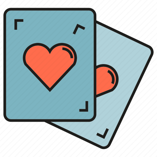Card, game, heart, play icon - Download on Iconfinder