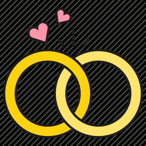 Heart Wedding Ring Icon