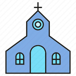 building, chapel, church, synagogue icon