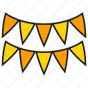 flag, party flag icon