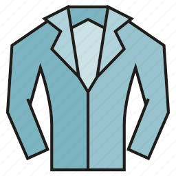 cloth, garment, shirt, suit icon