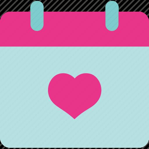 agenda, calendar, save the date, set, wedding icon