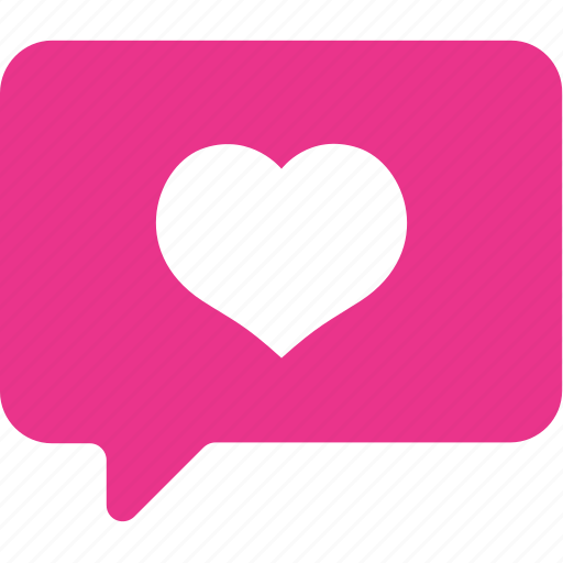 chat, heart, love, set, wedding icon