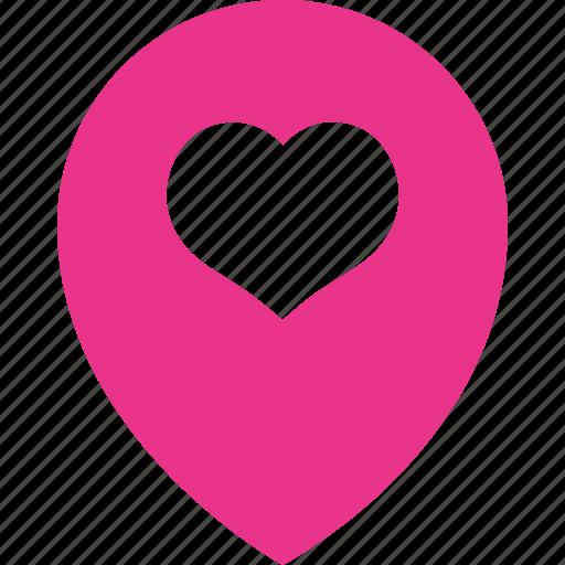 gps, location, navigation, set, wedding icon
